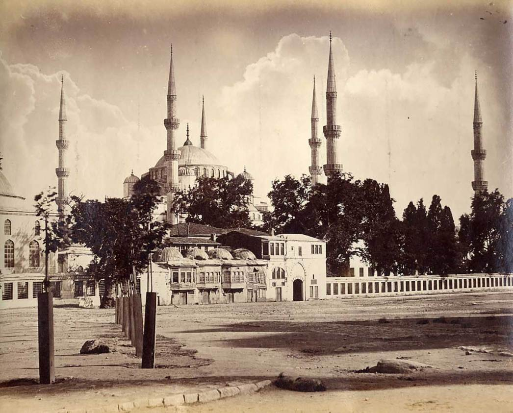 Blue Mosque 1850s