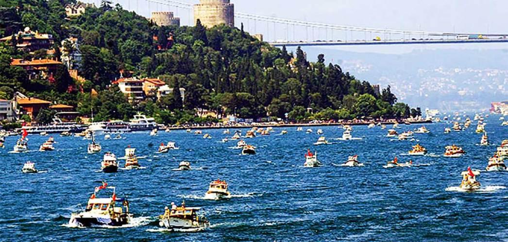 İstanbul Bosphorus Traffic