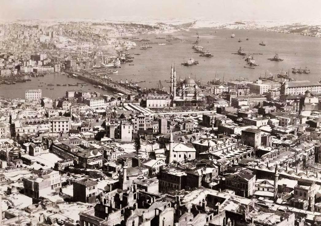 Beyazıt Kulesi'nden İstanbul