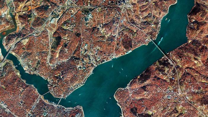 Istanbul Golden Horn and Bosphorus