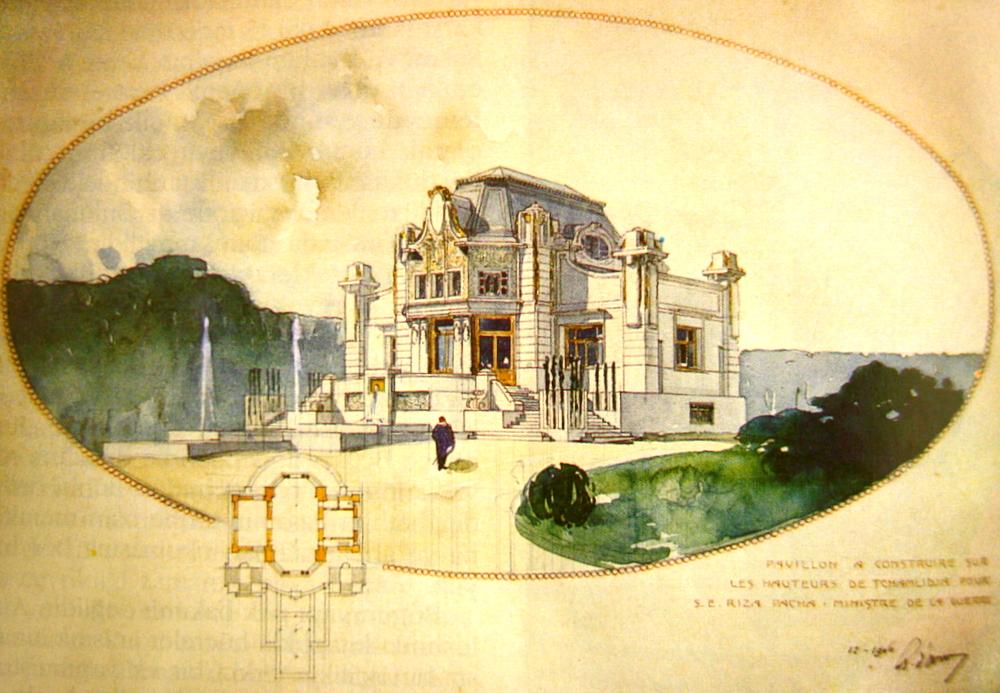 Küçük Çamlıca, Rıza Pasha Pavillon
