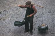 An Old Yoghurt Seller