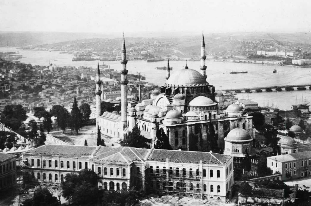 Süleymaniye Mosque 1930s