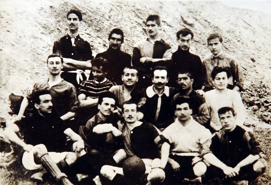 The first photo of Galatasaray (1905)
