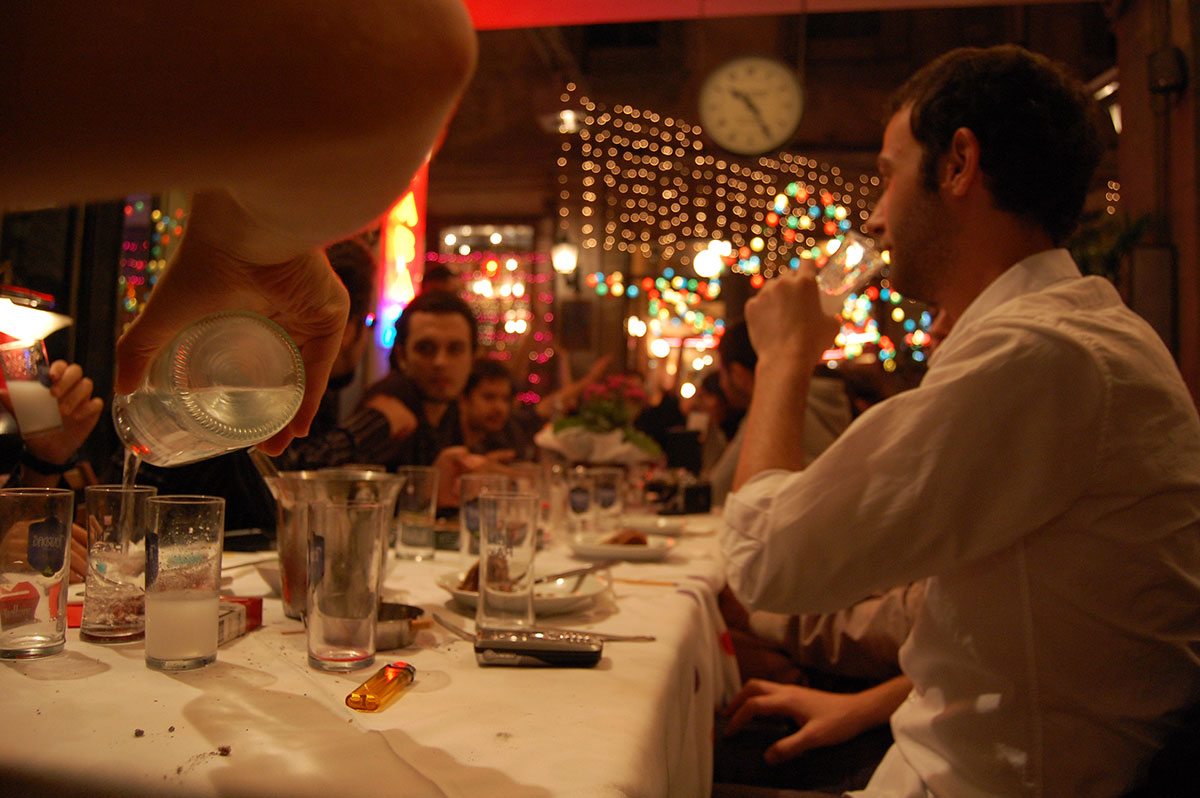 The Rakı Table and Rules of Etiquette
