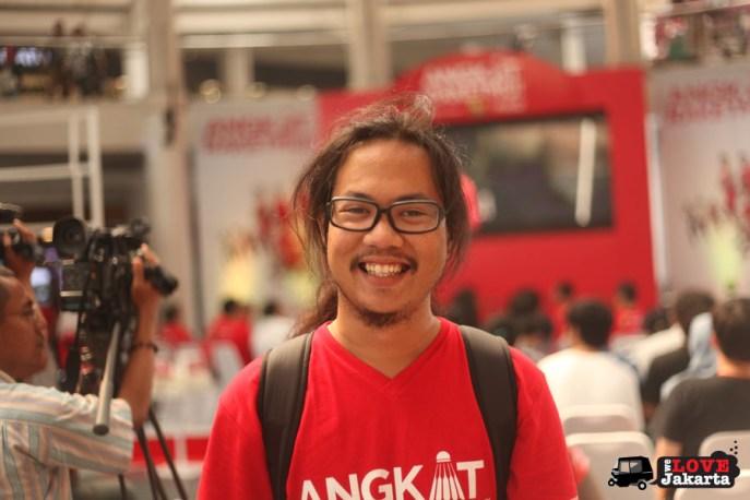 Mahatma Putra_Tasha May_We Love Jakarta_welovejakarta_Angkat Raketmu_Coca Cola Indonesia_Rudy Hartono_Christian Hadinata_Citos_Jakarta_Indonesia_Badminton Indonesia