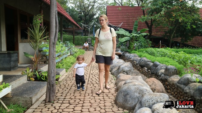 Tasha May_Treen May_Ecopark Ancol_peddle car_Jakarta indonesia_Learning Centre vegetable gardens