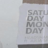 Saturday Monday (feat. Julia Spada) - Headshake