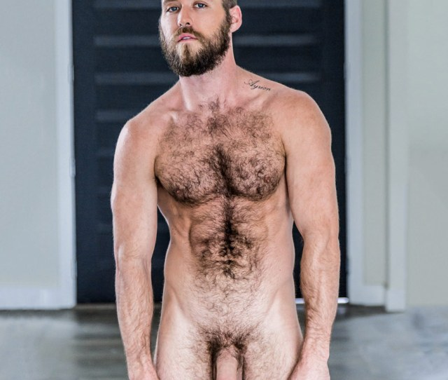 If You Are Into Hairy And Bearded Men This Sexy Beast Ziggy Banks Might Be The Right One For You Strikingly Handsome Blue Eyed Ripped Dancer