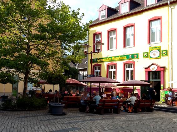 Ausflugstipp Eifel Schleiden Gemünd Rursee Gemünder Brauhaus Brauerei gute Schnitzel