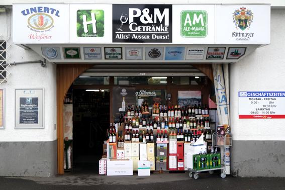 P&M Getränke Bonn Biersortiment Auswahl Craft Beer Köln Bonn wo kaufen