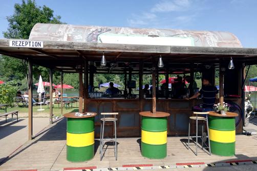 Biergarten Bonn Remagen Tipp Radtour Rheincamping Sievbengebirgsblick Bonn geht trinken Ausflugsziel Bonn
