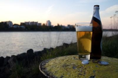 Bier Grillen am Rhein Bonn Tipp Geheimtipp schöne Stelle