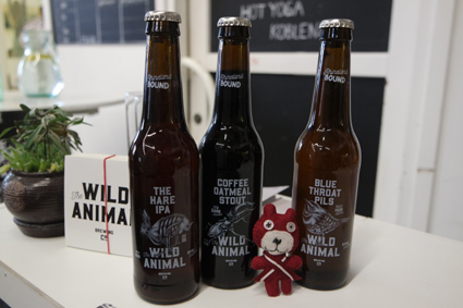 Wild Animals Brewing Craft Beer Koblenz Michael & Chloe Stanzel Blue Thoat Pils The Hare IPA Craftbeer Rheinland