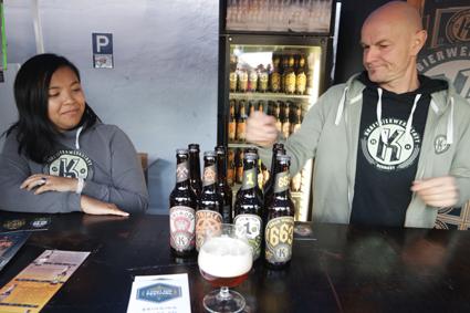 Kraftbeerwerkstatt Böblingen Stuttgart Craft Beer Festival Düsseldorf Crafters Britische Biere Craftbier Rheinland
