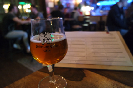 Craft Beer Bar Köln Cologne belgisches Bier Delirium Café Tap House