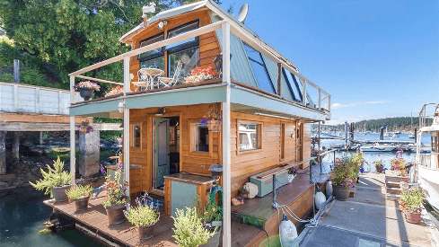 pontoon houseboat for sale