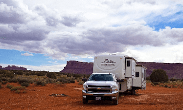 live free in an rv boondocking