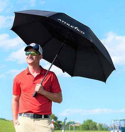 Best Safest Windproof Umbrella Athletico golf 4