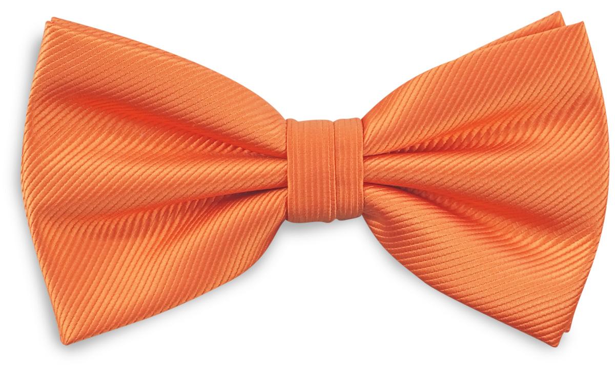 Bow Tie Orange Repp Bow Ties