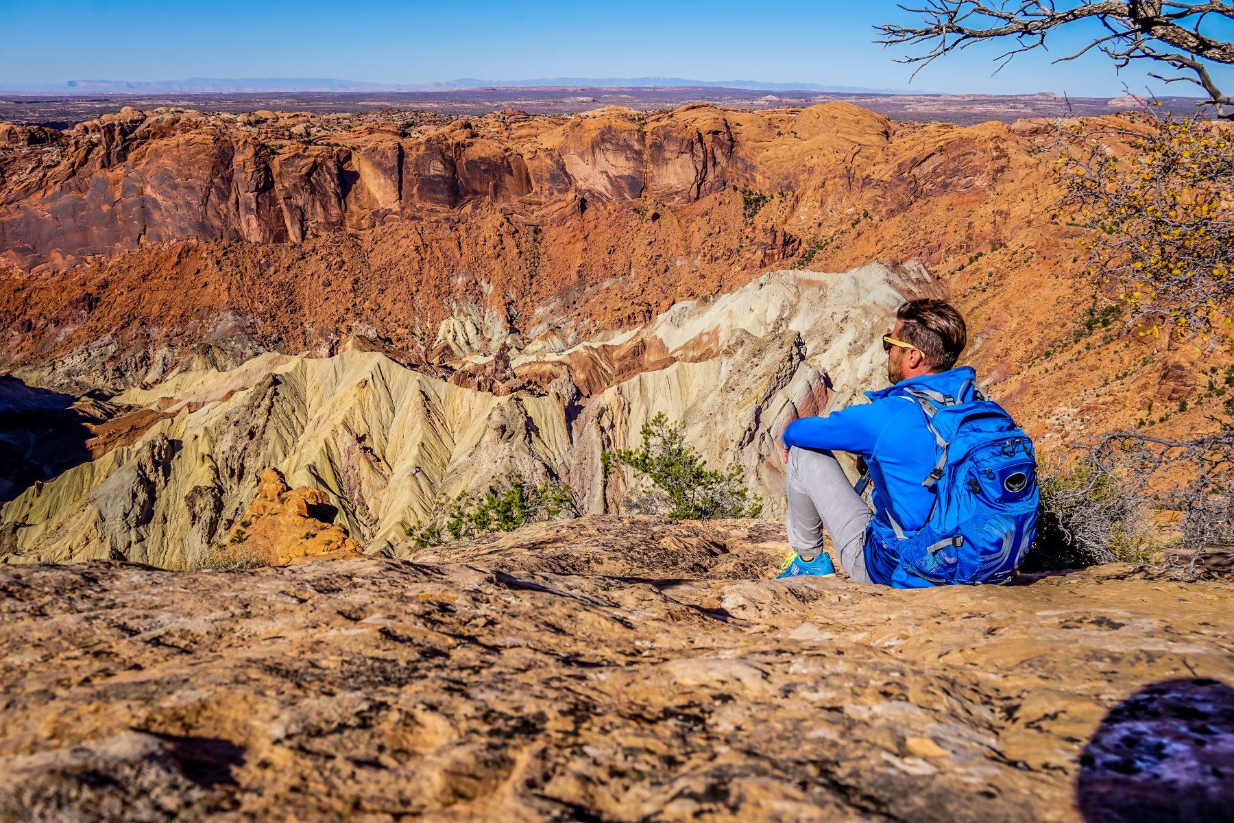 Upheaval Dome at Canyonlands National Park