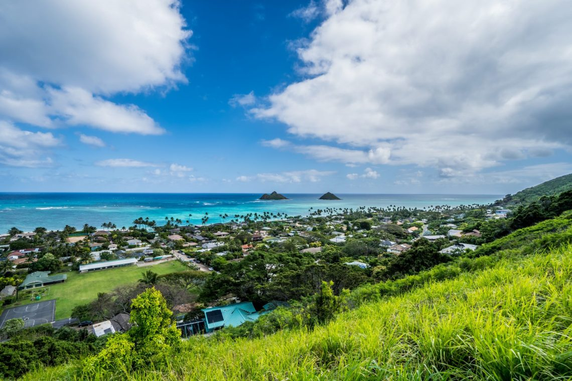 Right from the beginning, you will have stunning views of Lanikai and the Mokulua Islands State Seabird Sanctuary