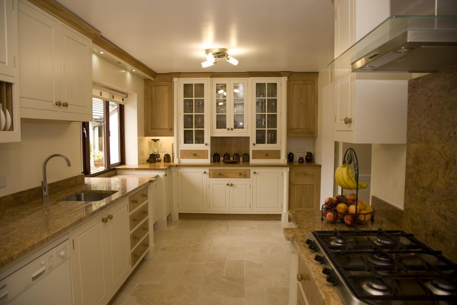 Painted Oak Kitchen Llanrhystud