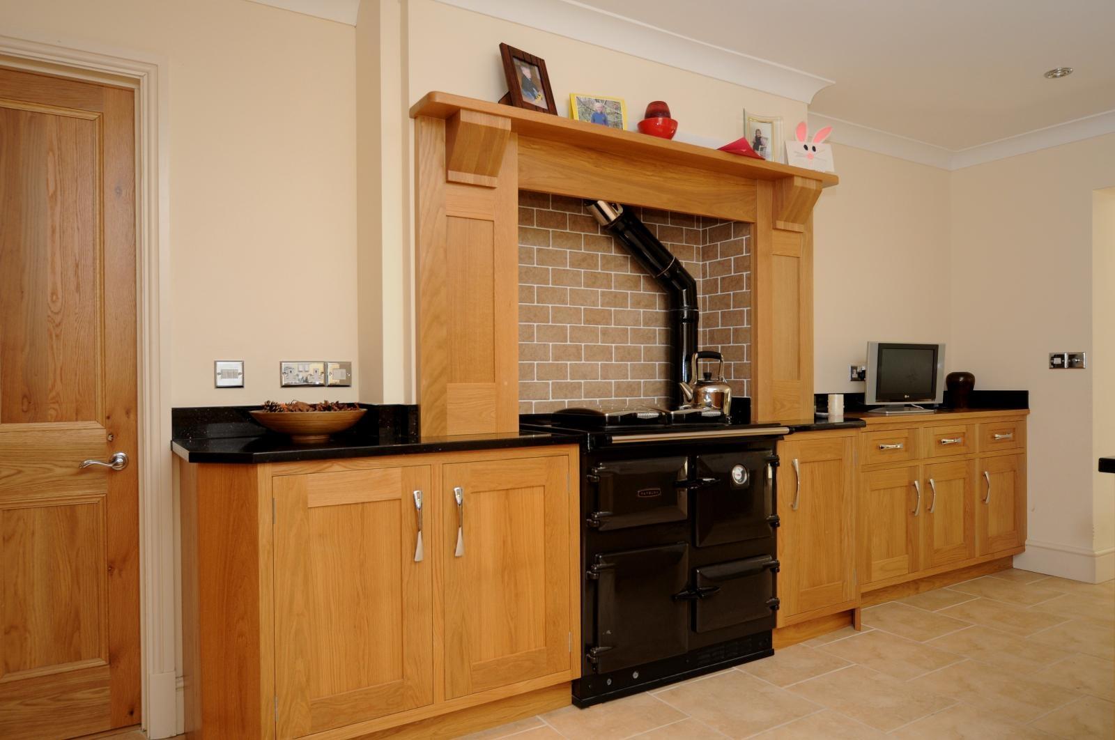 Oak Shaker Kitchen St Davids