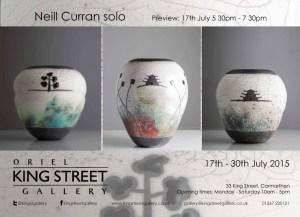 King Street Gallery Neill Curran exhibition