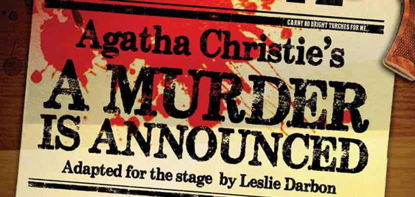 a-murder-is-announced aberystwyth arts centre