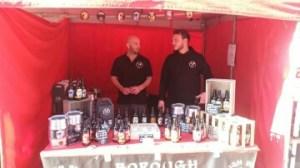 borough brewery trade stand