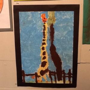 Ucheldre centre Art for All Junior D under 7yrs winner