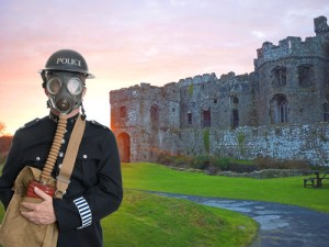 carew castle murder mystery