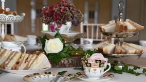 Royal Welsh high tea