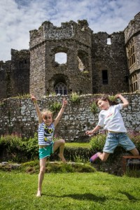 carew castle summer fayre