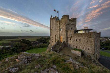 christmas on the welsh coast roch castle