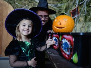 halloween events at carew castle