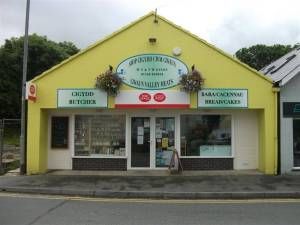 gwaun valley meats shop