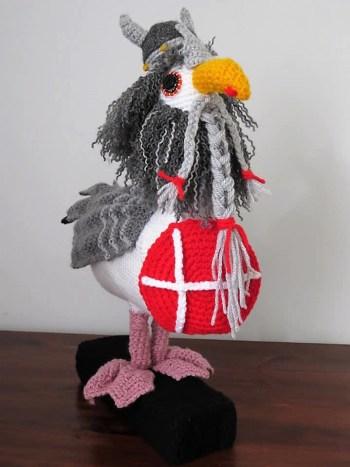 Seagull crochet