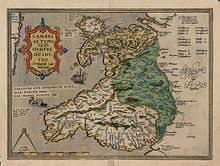 humphrey llwyd map at national library wales