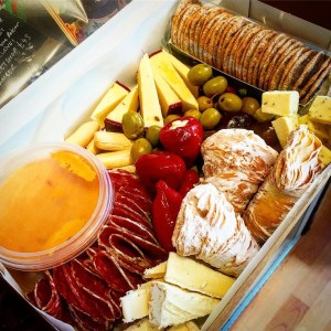 little cheesemonger cheese hamper for pregnant ladies