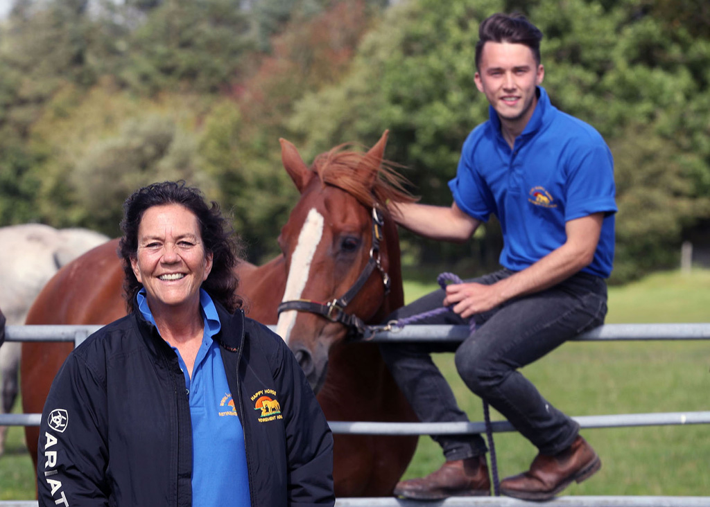 Happy Horse Retirement Home - Jobs Growth Wales