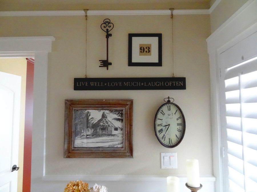 Entry Makeover - wall