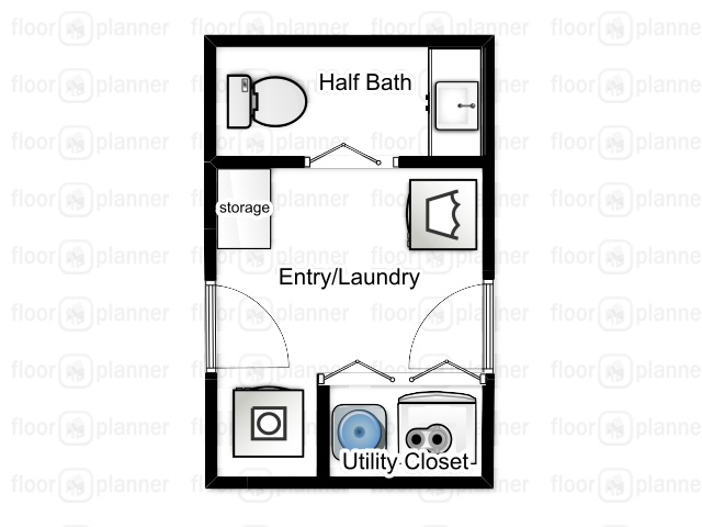 laundry room floor plan, creating a mudroom