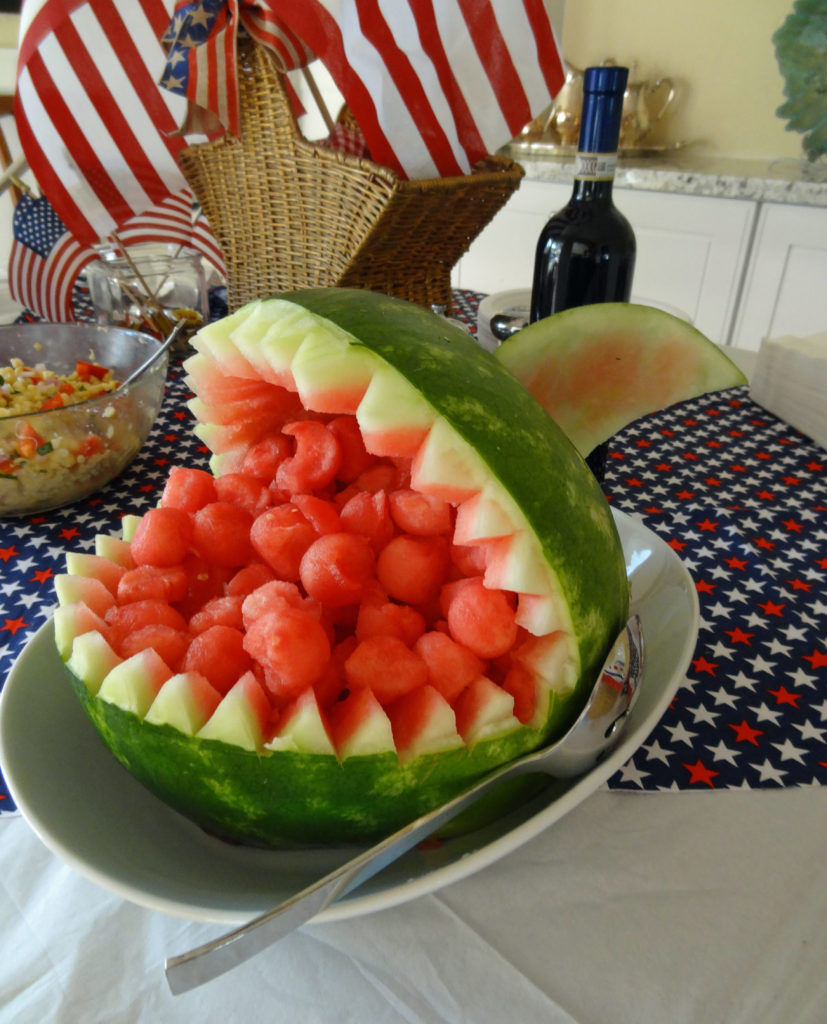 watermelon shark, summer bbq ideas