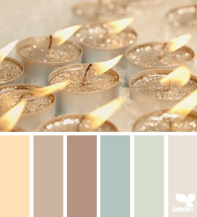 soothing color palette