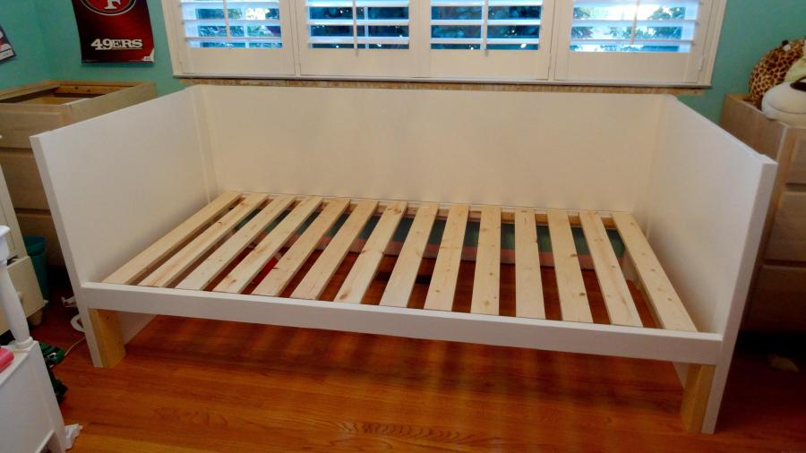 Our Diy Daybed And Trundle Are Made Welsh Design Studio