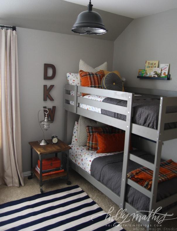 industrial boys bedroom by holly mathis