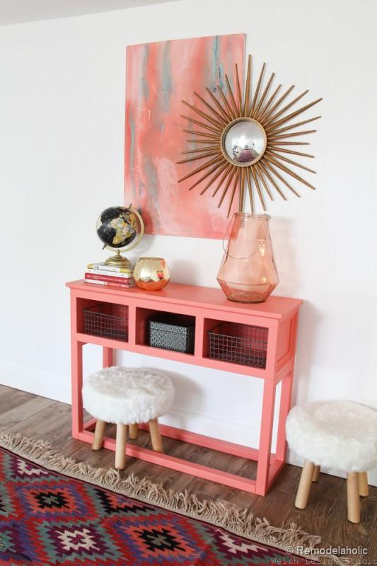 coral reef furniture paint
