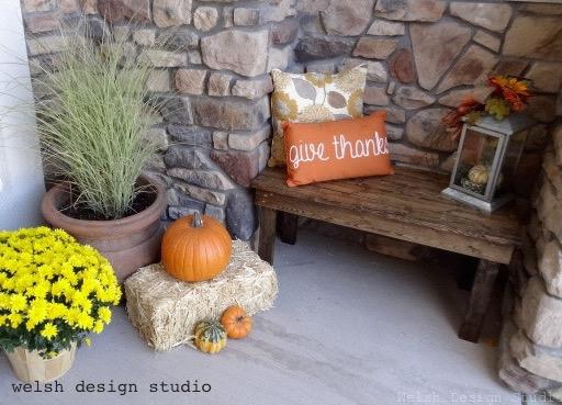 decorations for fall front porch